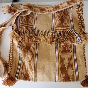 Hippie boto crossbody bag